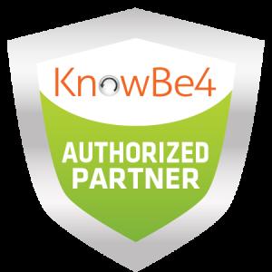 KnowBe4 Authorized Partner logo | Turner Technology is a KnowBe4 Authorized Partner