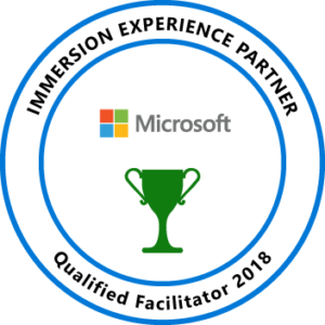 Microsoft Immersion Experience logo | Turner Technology is a Microsoft Immersion Experience Partner since 2018
